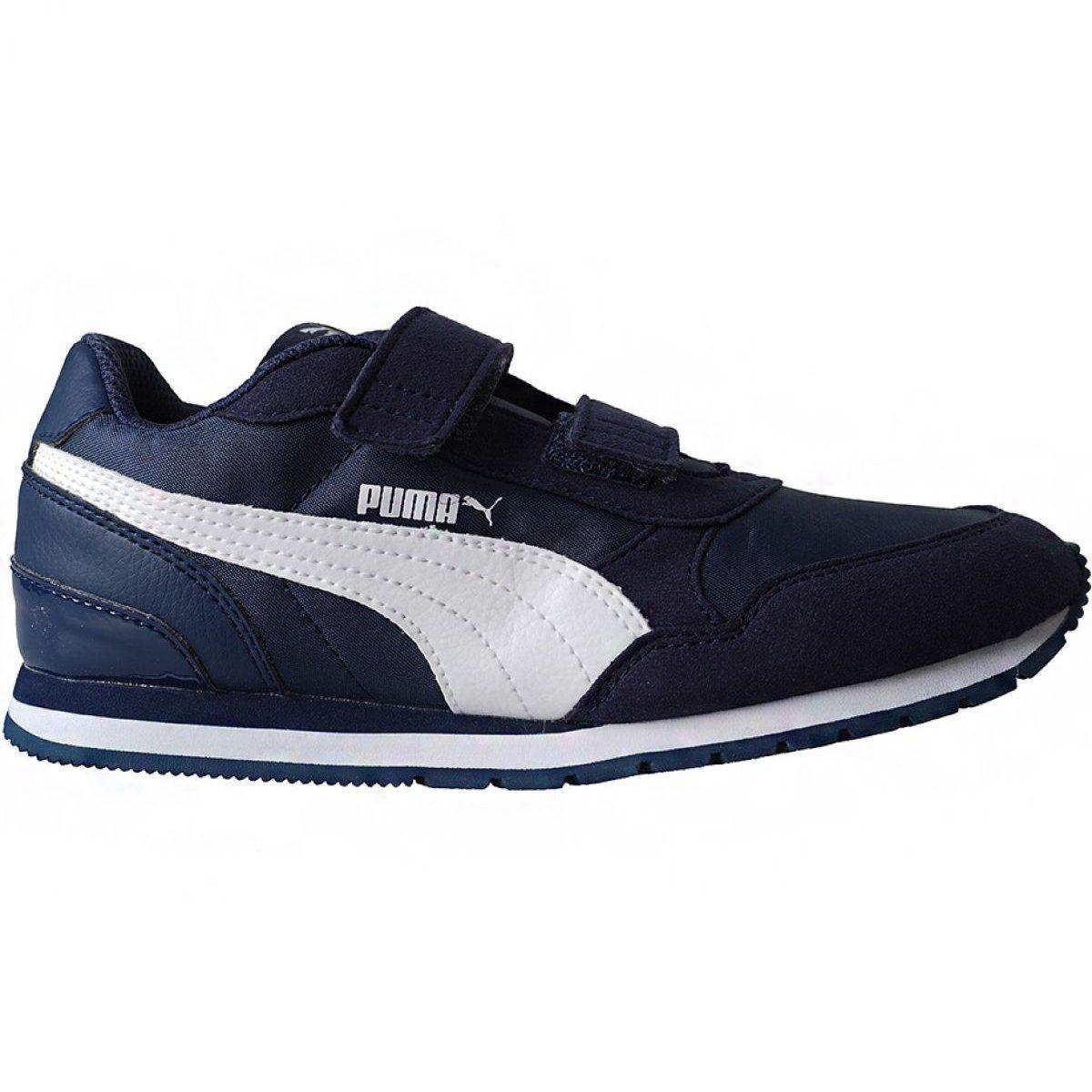 Buty Puma St Runner V2 Nl V Ps Jr 365294 09 Granatowe Kid Shoes Everyday Shoes Shoes