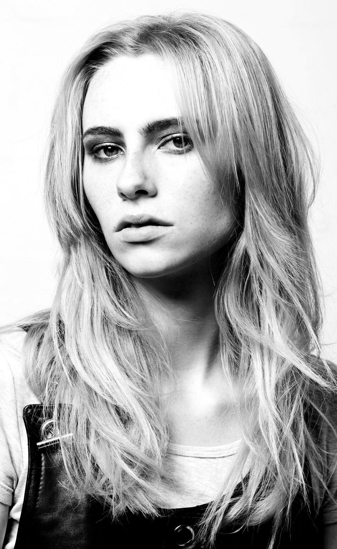 shannon @ elite model management    headshot from Danielle Foster SS 13 lookbook