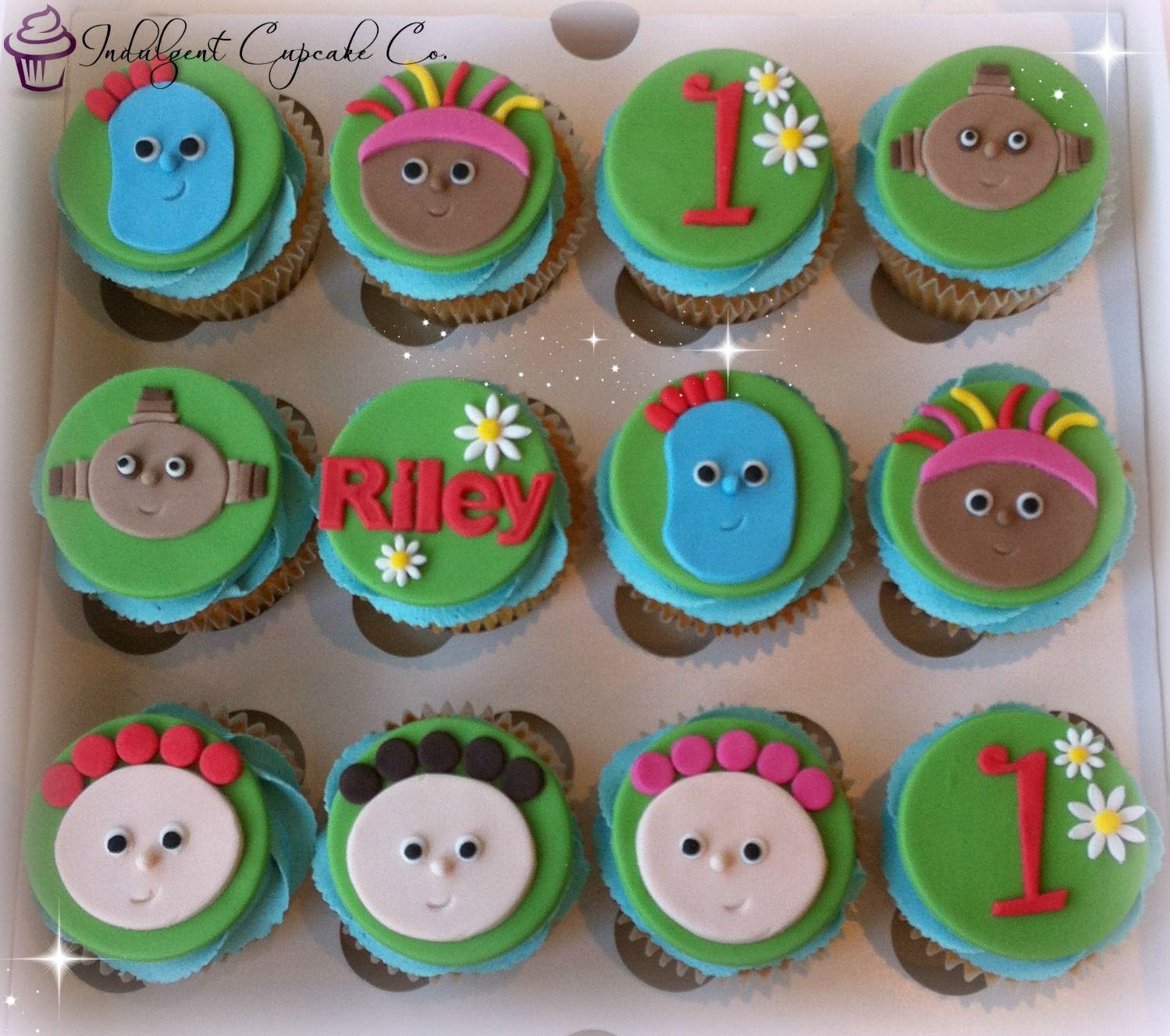 In The Night Garden Party Ideas In the night garden cupcakes mas birthday pinterest in the night garden cupcakes workwithnaturefo