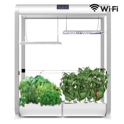 Aerogarden Farm X Large In White Plants Grown In Water 640 x 480