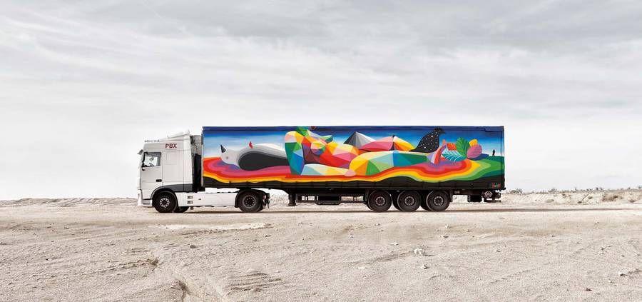 Colorful Art on Trucks – Fubiz Media