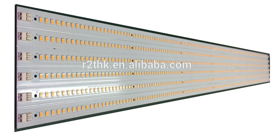 Aluminum PCB board for led light Bar with Samsung LM561C 3000K S6