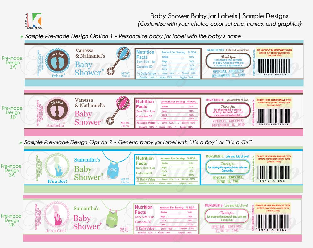 Baby showers diy prinatble baby jar label favors for baby showers baby showers diy prinatble baby jar label favors for baby showers pronofoot35fo Gallery
