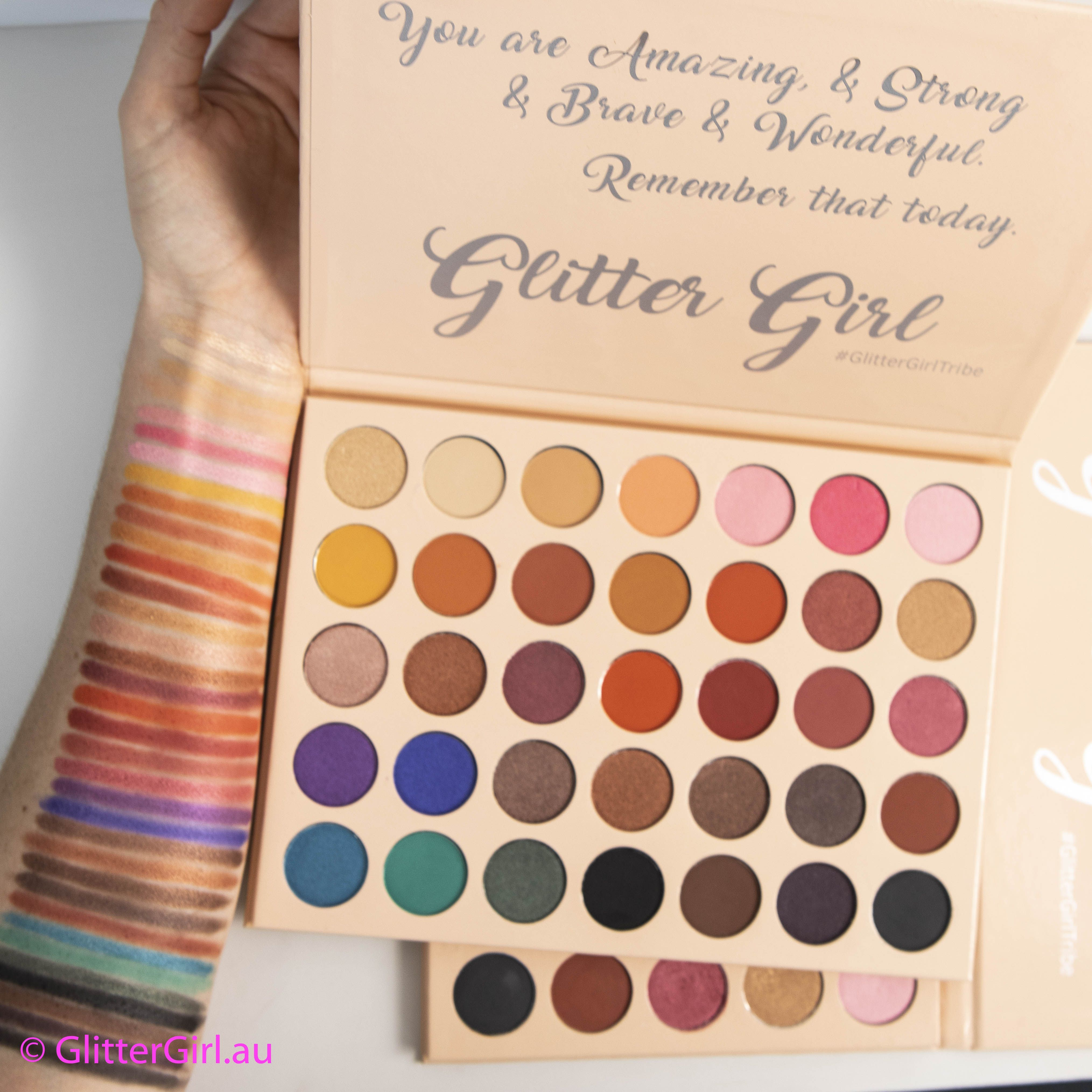 Trophy Palette (With images) Glitter girl