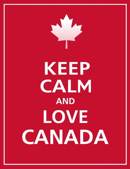 Lovin Red For Canada Day Canada True North Strong And Free