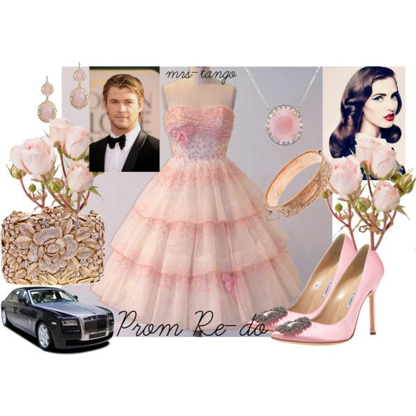 Prom Re-do, created by mrs-tango on Polyvore