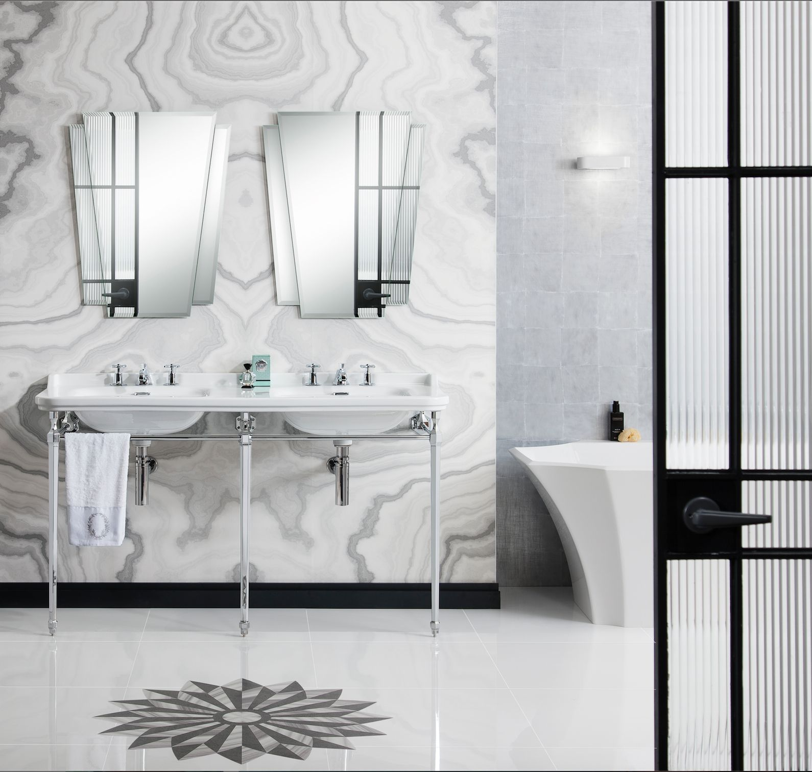 Belmont Hardware – CROSSWATER THE ULTIMATE BATHROOM DESIGN   Home ...