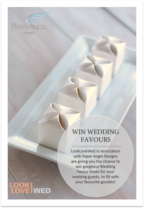 Win 150 gorgeous wedding favours from Paper Angel Designs!