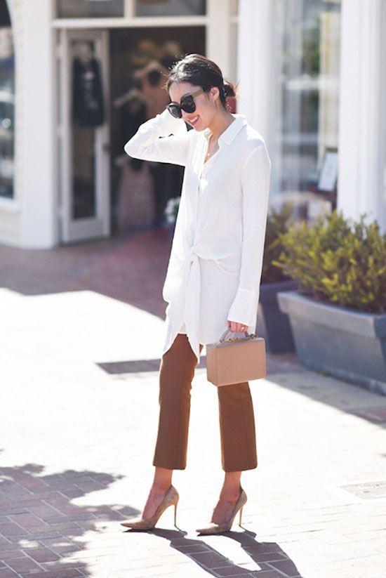 15 Schicke Arbeitskleidung mit kurzen Hosen