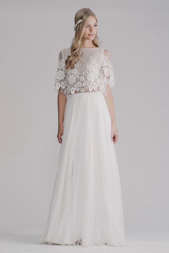 Wedding Dress of the Day : Kayla by Yoav Rish | Wedding dress, Gowns ...