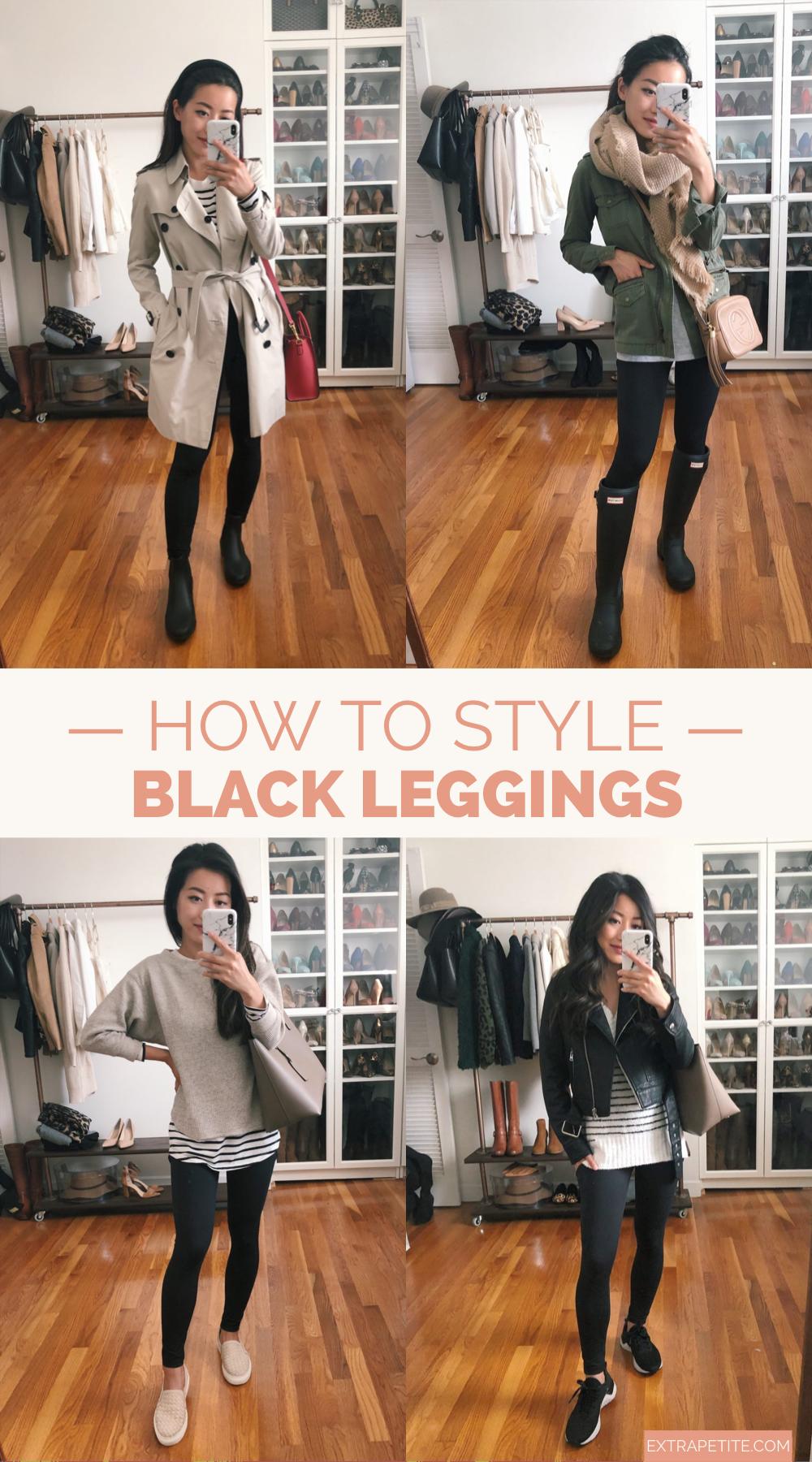 Photo of 5 maneiras de estilizar leggings pretas // Extra Petite