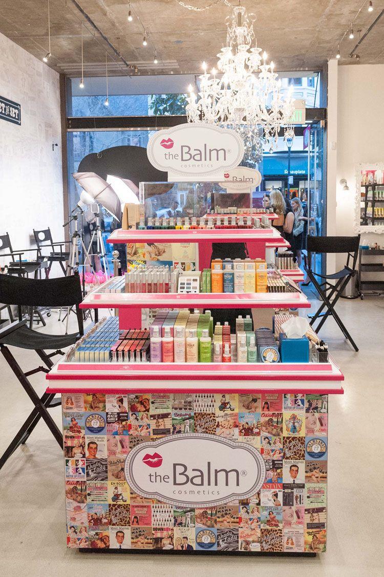 theBalm Cosmetics Flagship Store Opening Kosmetik
