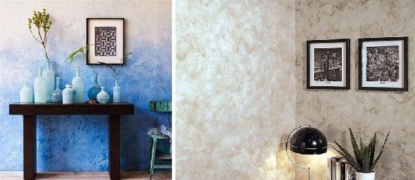T cnica del esponjado para paredes creativo pinterest - Paredes pintadas originales ...