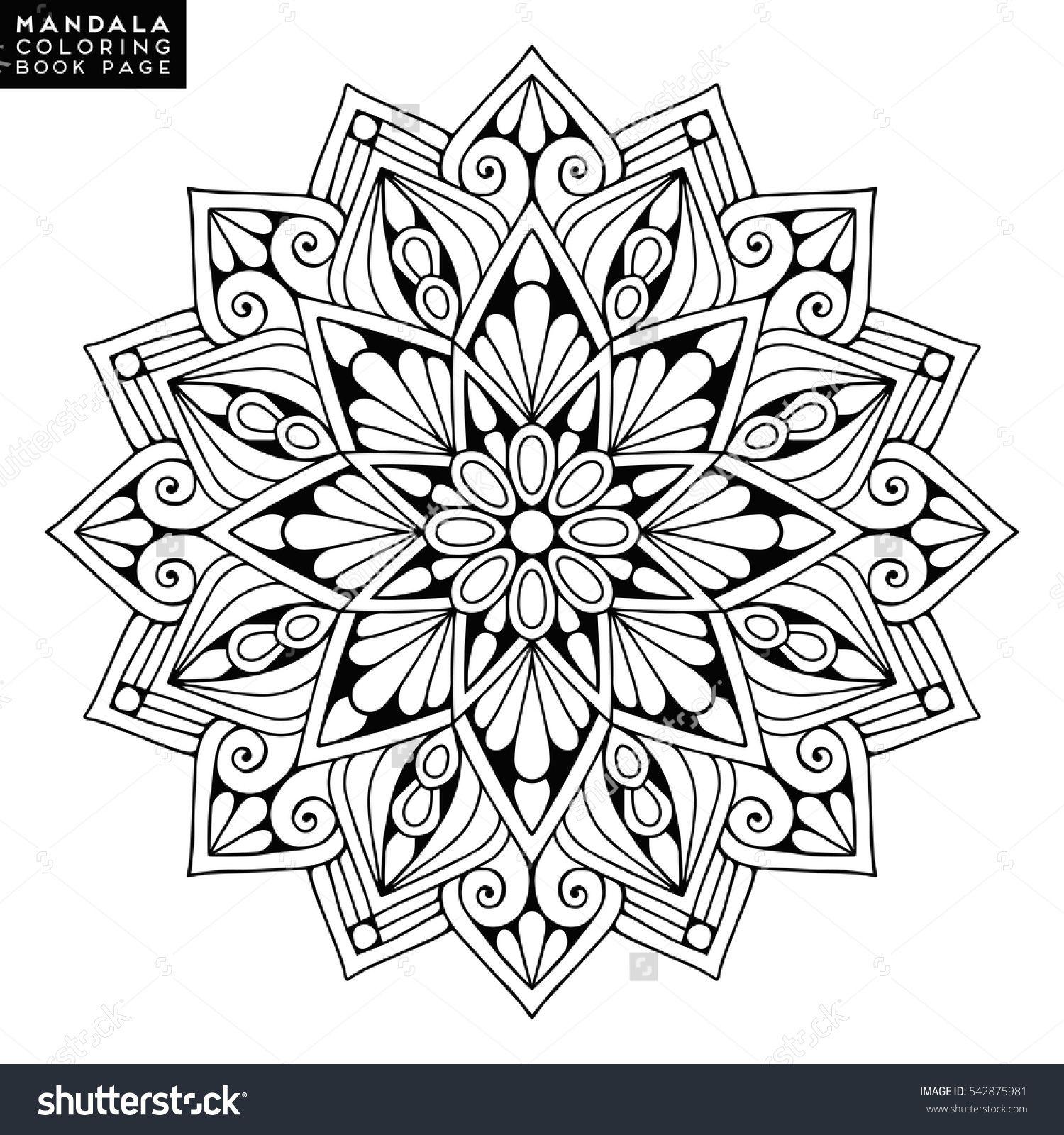 Flower Mandalas Vintage mandalas