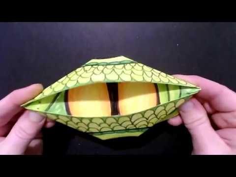 Photo of Origami Dragon Eye