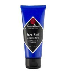 Jack Black Face Buff Energizing Scrub 1.5 oz tube by Jack Black. $10.00. Contains Vitamin C and Menthol. Use daily for best results. Helps with in-grown hair. Use pre-shave as a cleanser to remove dirt and dry skin cells for a smoother shave. Jack Black's popular face scrub now in a convenient 1.5 ounce travel size. Effectively clears the way for an easier shave by smoothing the surface of your skin.   This deep-cleaning pre-shave cleanser and scrub contains small scrubbing...