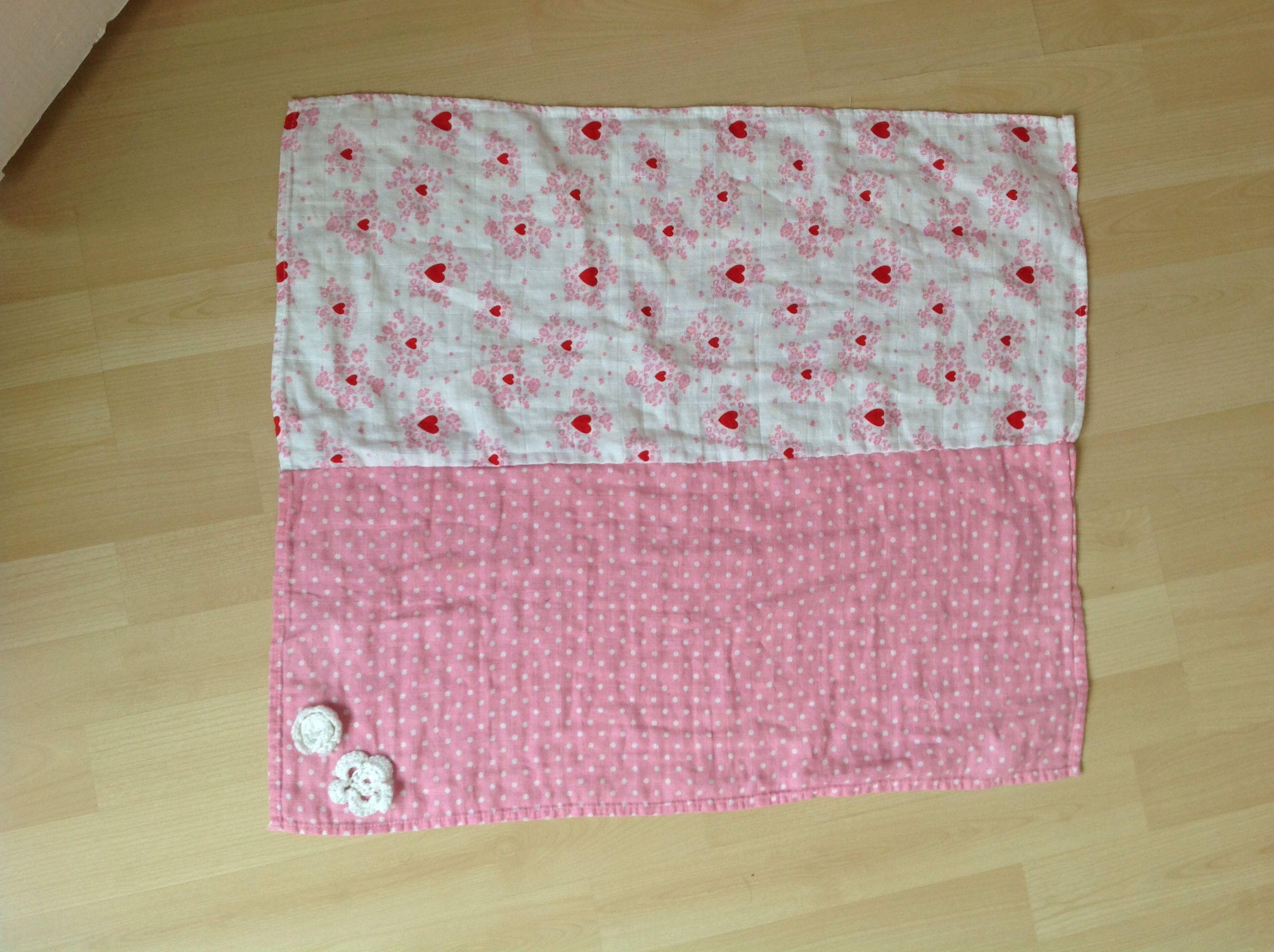 Picknick kleedje gemaakt van oude katoenen baddoeken