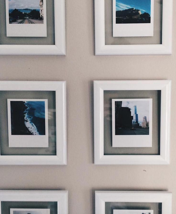 We Love These Mini Frames As A Way To Display Vintage Prints What