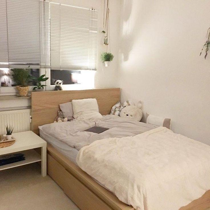 Wunderschone Minimalistische Schlafzimmer Deko Ideen