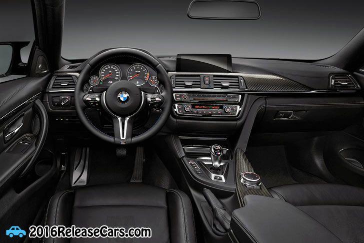 2015 BMW M4 Concept Iconic Lights Interior