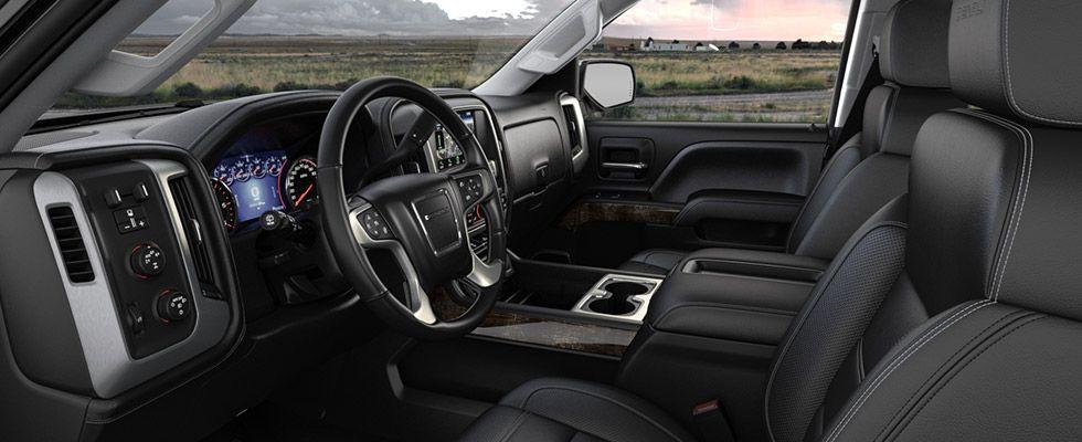2015 GMC Sierra 2500 Denali HD with Jet Black interior ...