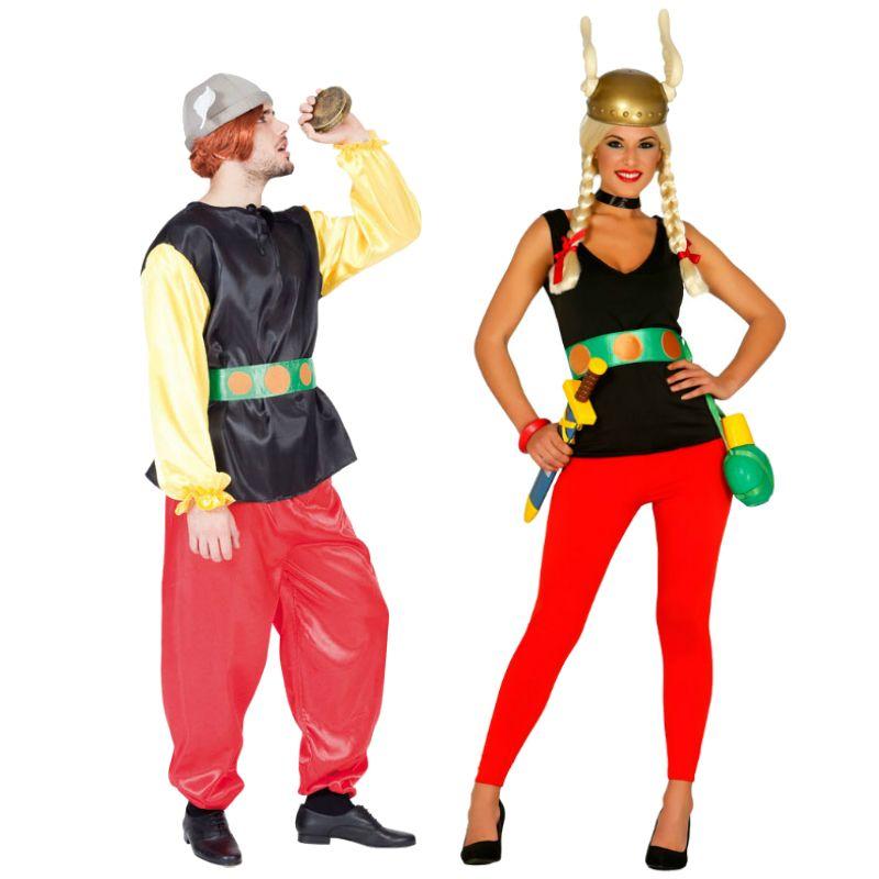 pareja asterix parejas disfraces carnaval. Black Bedroom Furniture Sets. Home Design Ideas