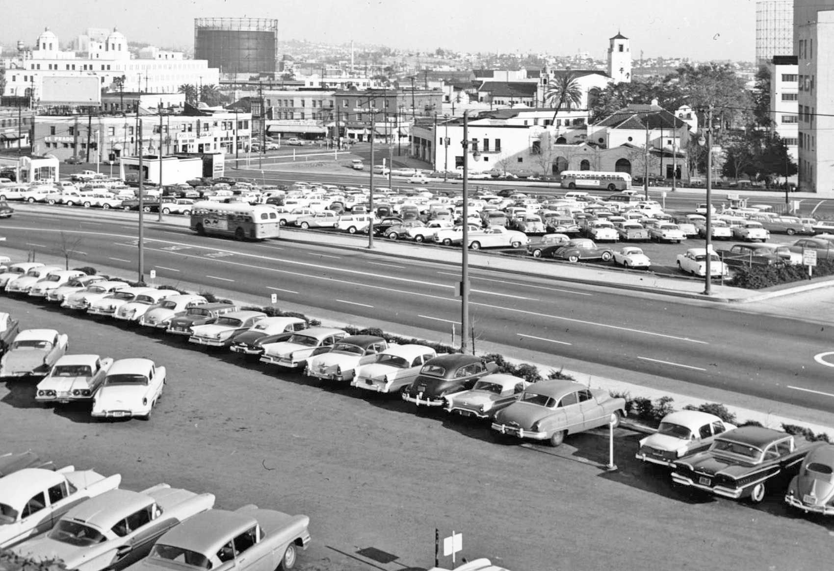 Parking Lot Series: Late 1950s – Two Sites in Los Angeles | The Old ...