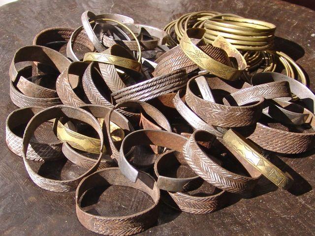 Metal Himba Bracelets