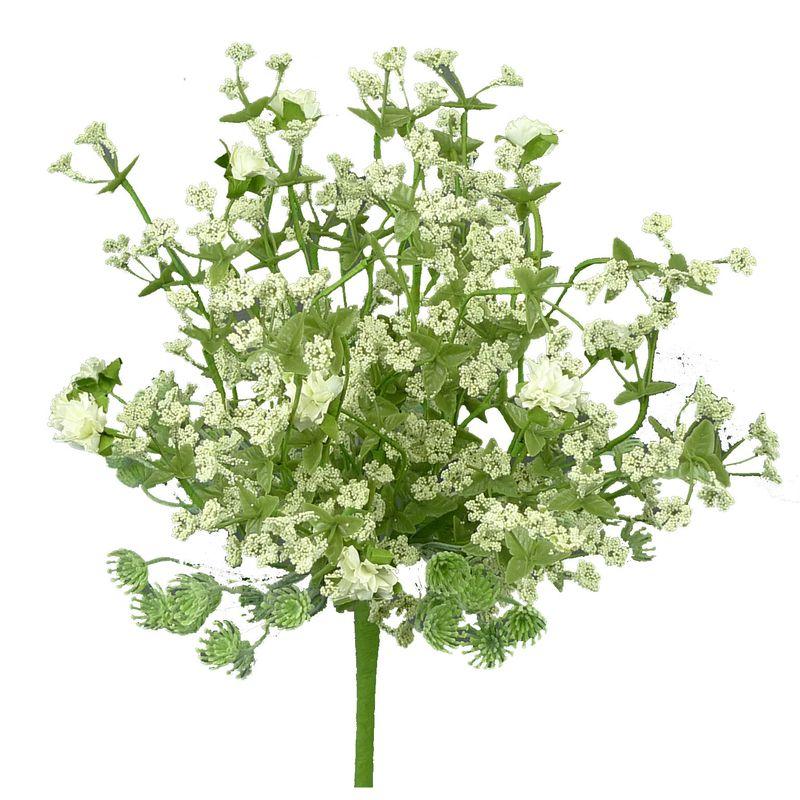 Gypsum Flower Bundle Color White Green Size 12 L Green Bush With Tiny White Gypso Flowers Flowers Pink Hydrangea Trendy Tree