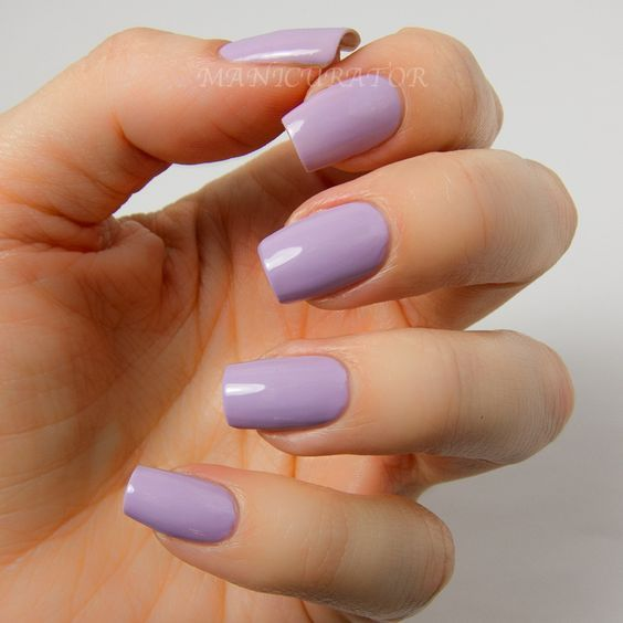 55 Trendy Spring Acrylic Nails You Will Love Purple Acrylic Nails Square Acrylic Nails Lavender Nails