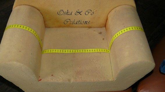 diy une housse pour fauteuil club en mousse pour enfant couture. Black Bedroom Furniture Sets. Home Design Ideas
