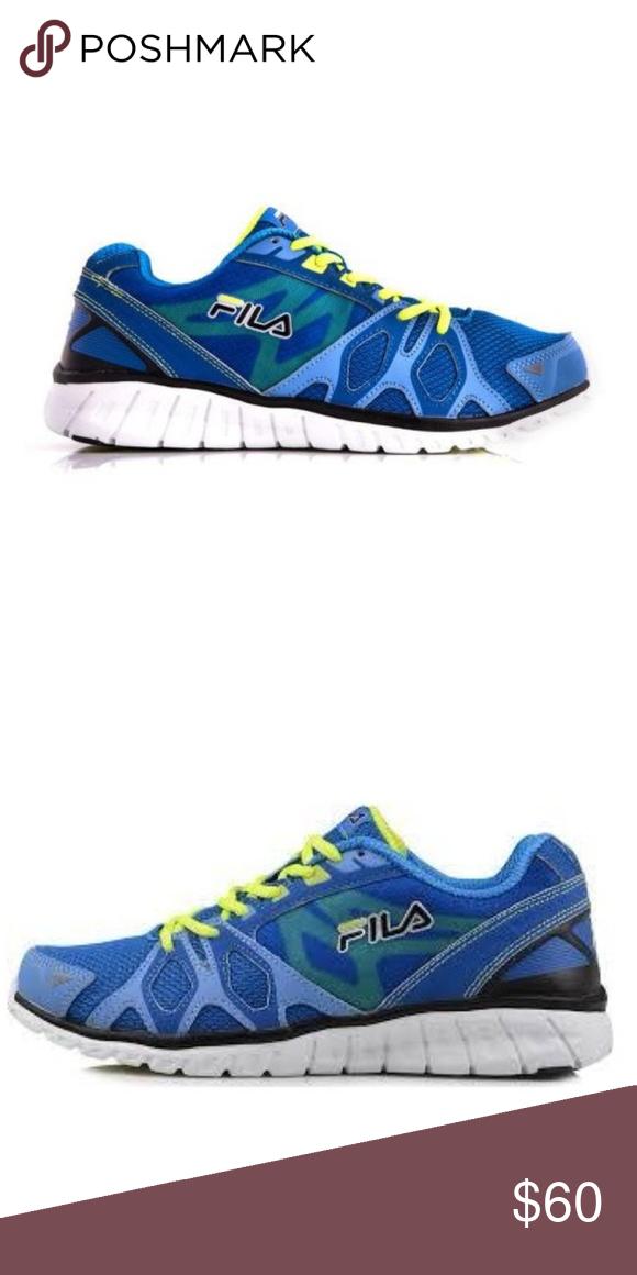 New Fila Blue Shadow Sprinter Running