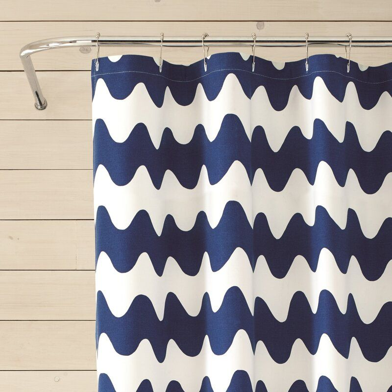 Pikku Lokki 100 Cotton Single Shower Curtain Curtains Fabric