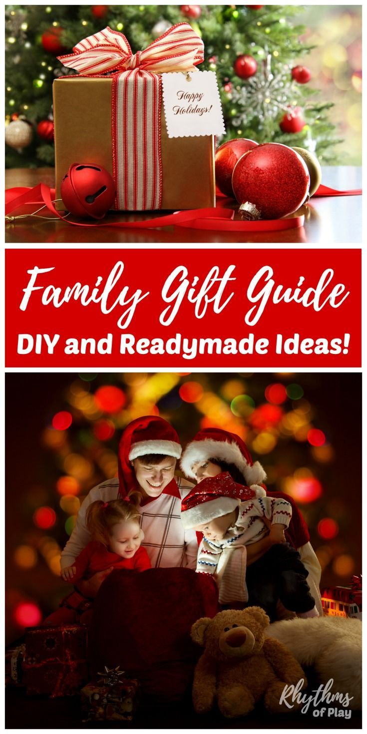 Ultimate Family Gift Guide: Readymade and Homemade Gift ...