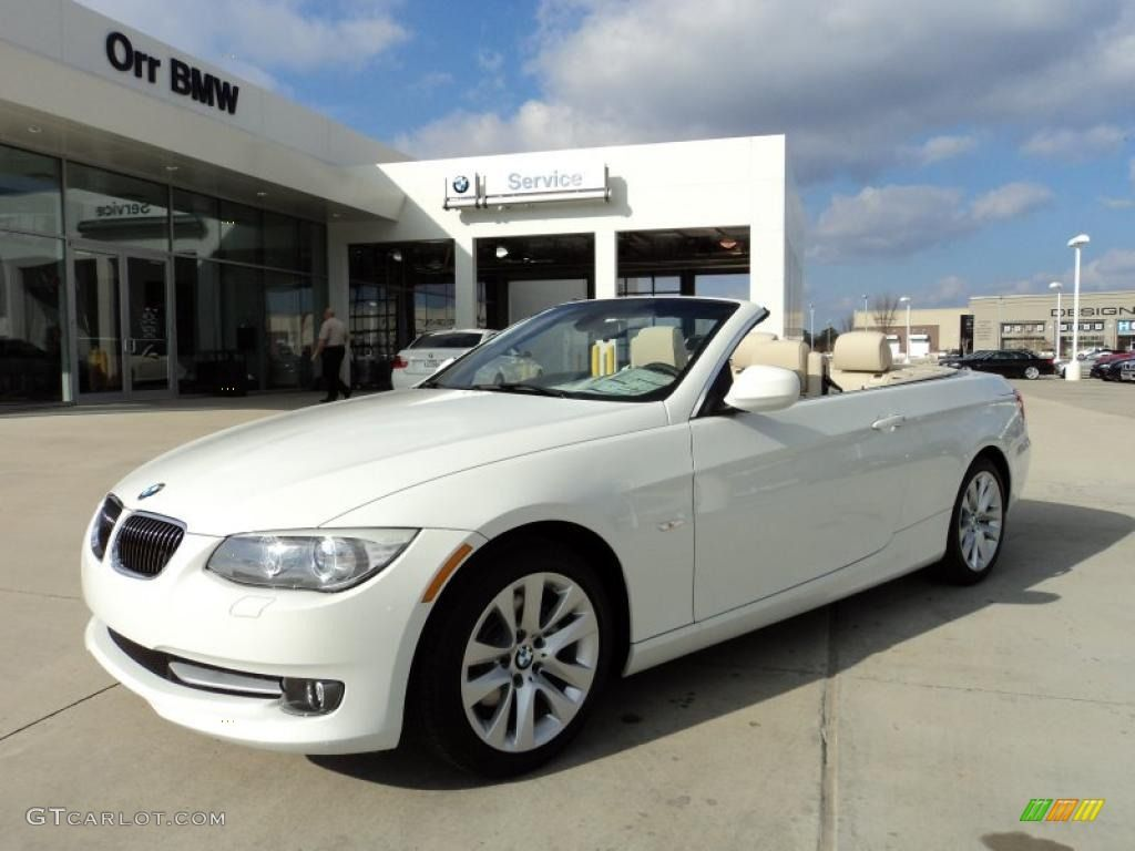 Alpine White 2011 Bmw 3 Series 328i Convertible Exterior Used