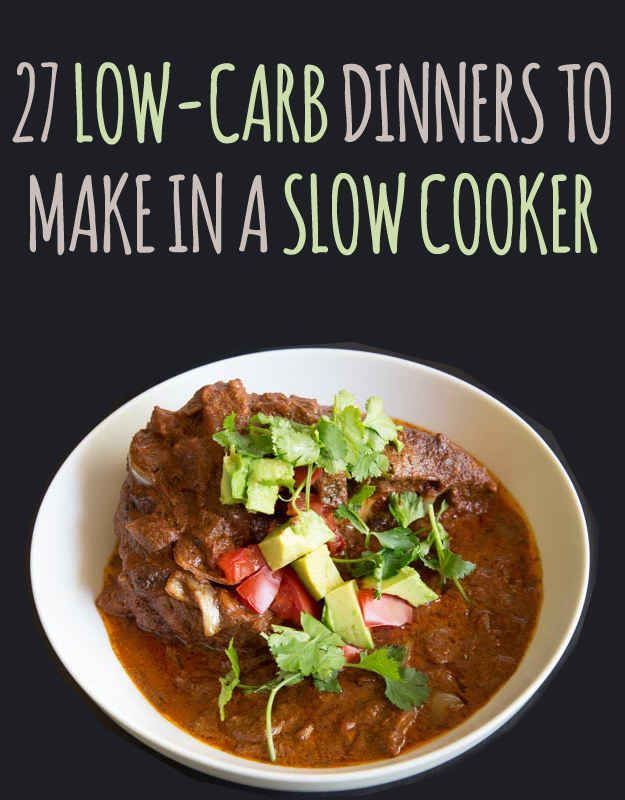 27 Delicious Low Carb Dinners To Make In A Slow Cooker Low Carb