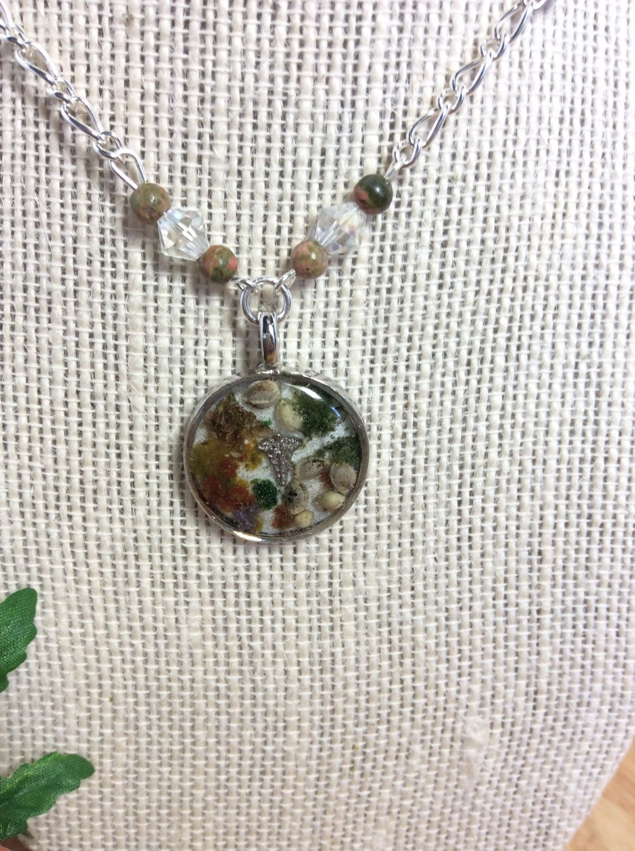 Marijuana Seed Necklace