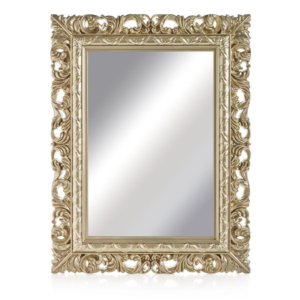 Wilko Ornate Mirror Medium Gold   Inside the House   Pinterest