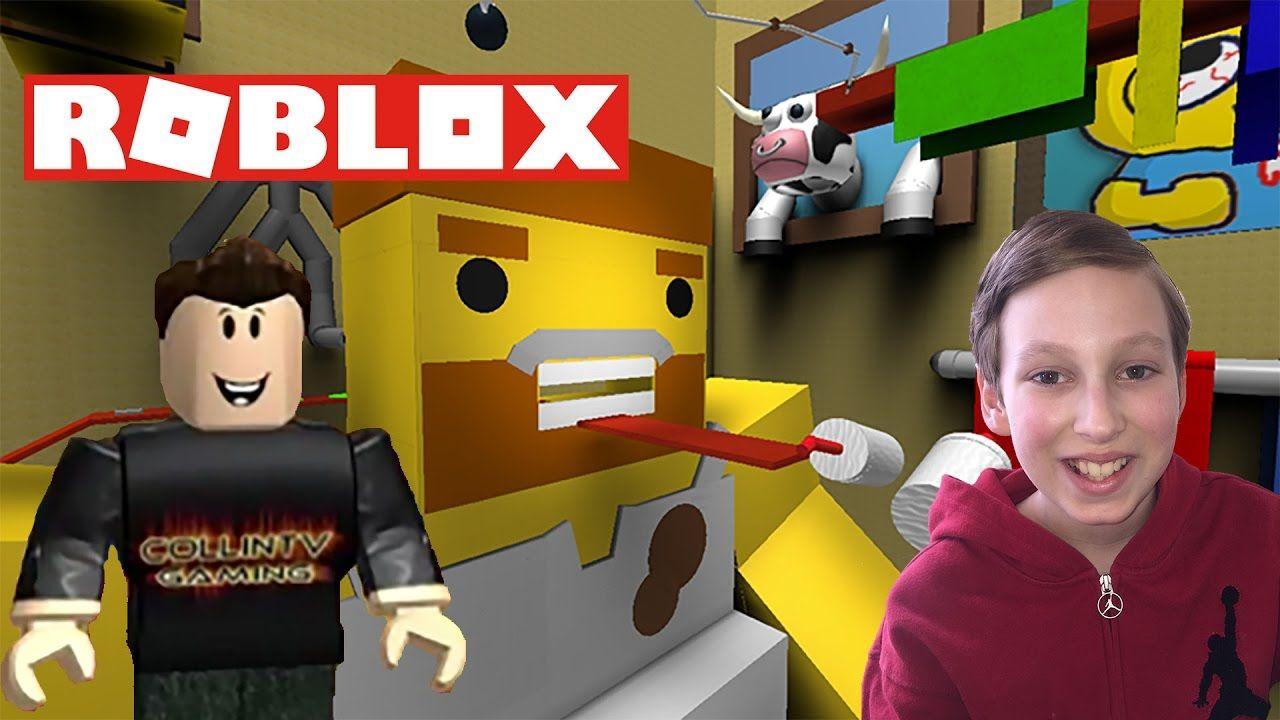 ROBLOX ESCAPE THE BATHROOM OBBY KID ROBLOX VIDEO COLLINTV GAM - Escape the bathroom game