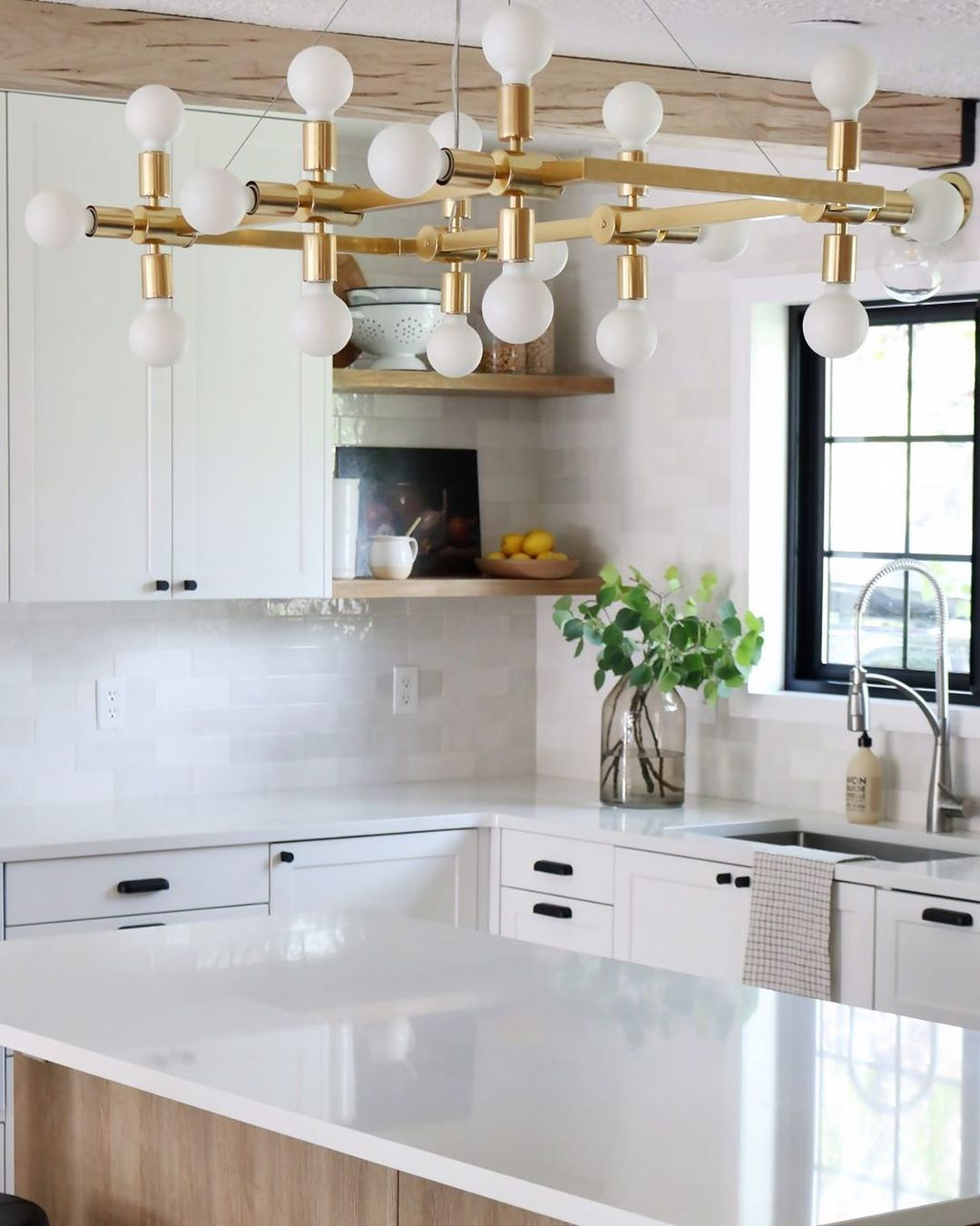 You Asked For It Today On Chrislovesjulia Com Get The Fullmer Kitchen Look For Less Over 11k Le Kitchen Inspirations Kitchen Renovation Ikea Kitchen Design