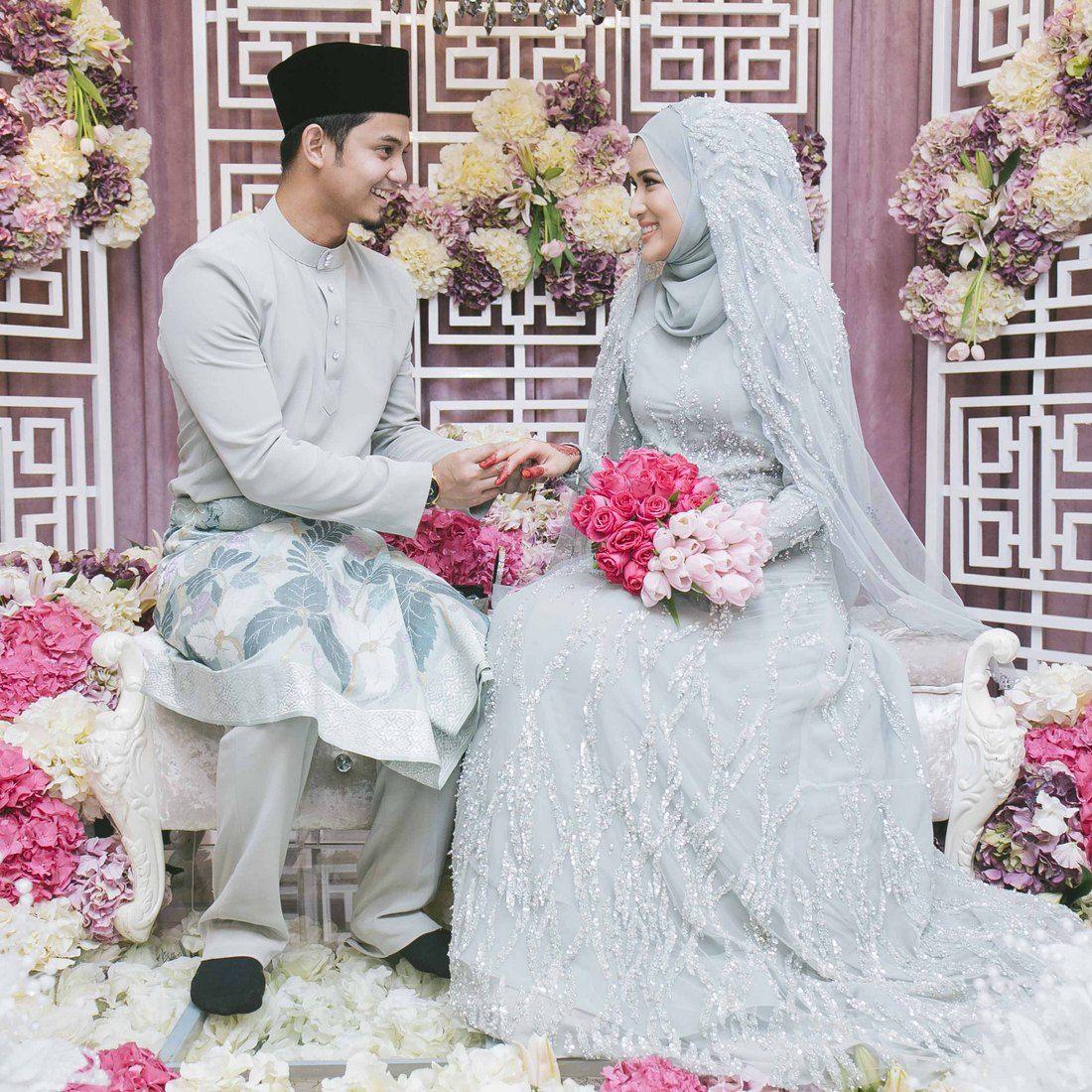 Wedding Nikah Simple Backdrop Decoration Muslim: Majlis Nikah Hairul Azreen & Hanis Zalikha …