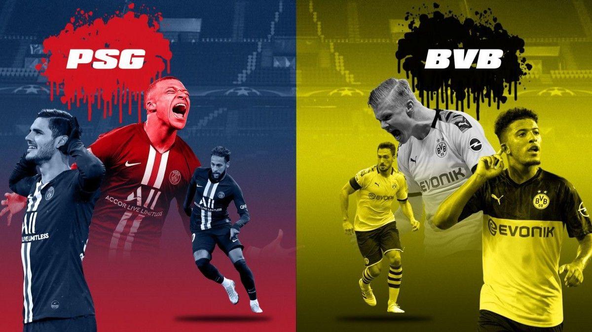 WATCH PSG vs Dortmund Live Streaming Online in 2020