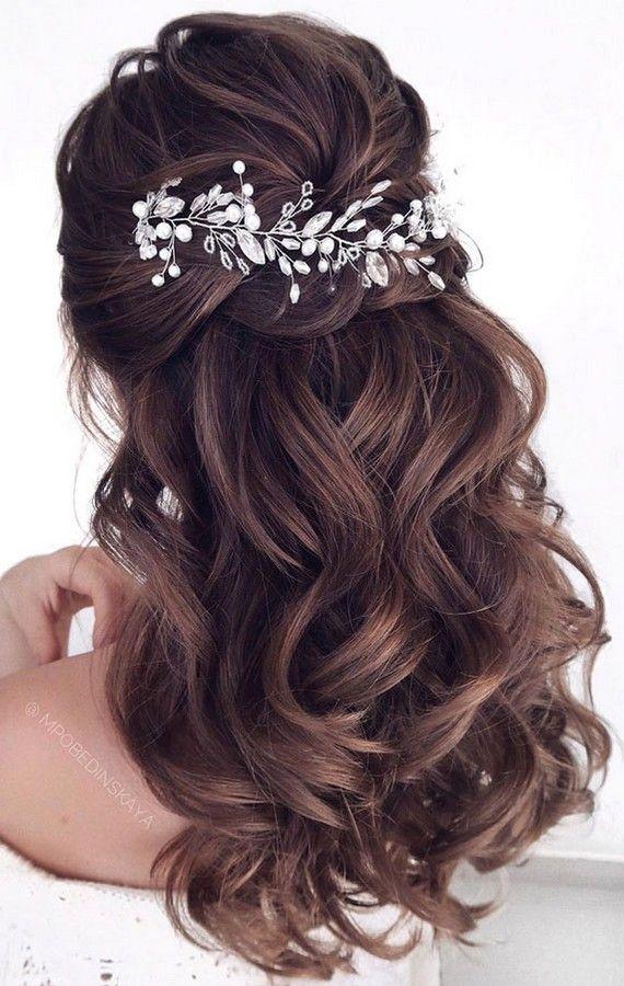 Half Up Half Down Wedding Hairstyles | Roses & Rings - Part 2