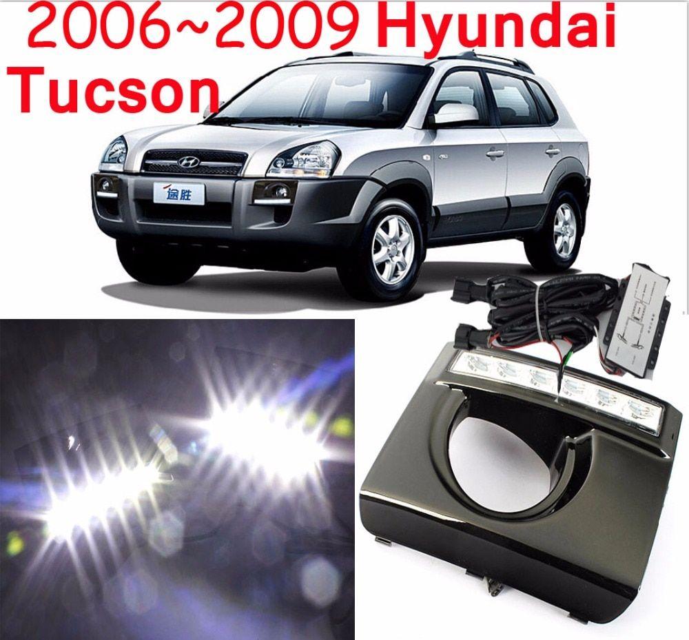 Led 2006 2014 Tucson Drl Fog Surround 10w 46 80 Tucson Car Car Led Car