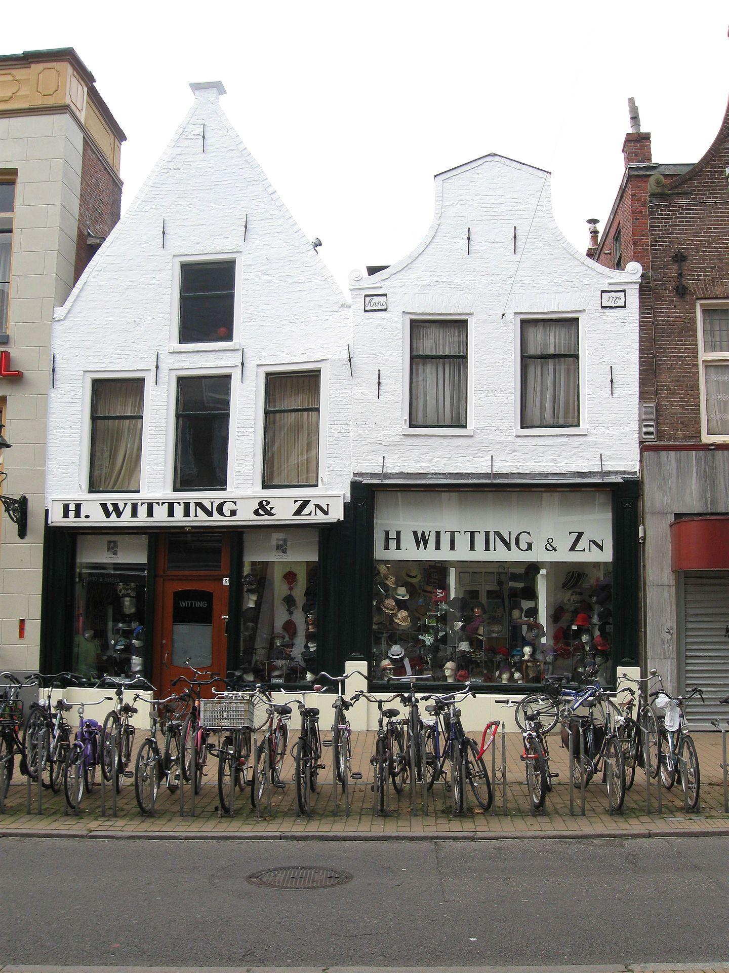 H.Witting&Zn. Hoeden en Petten. Oosterstraat, Groningen. The Netherlands.