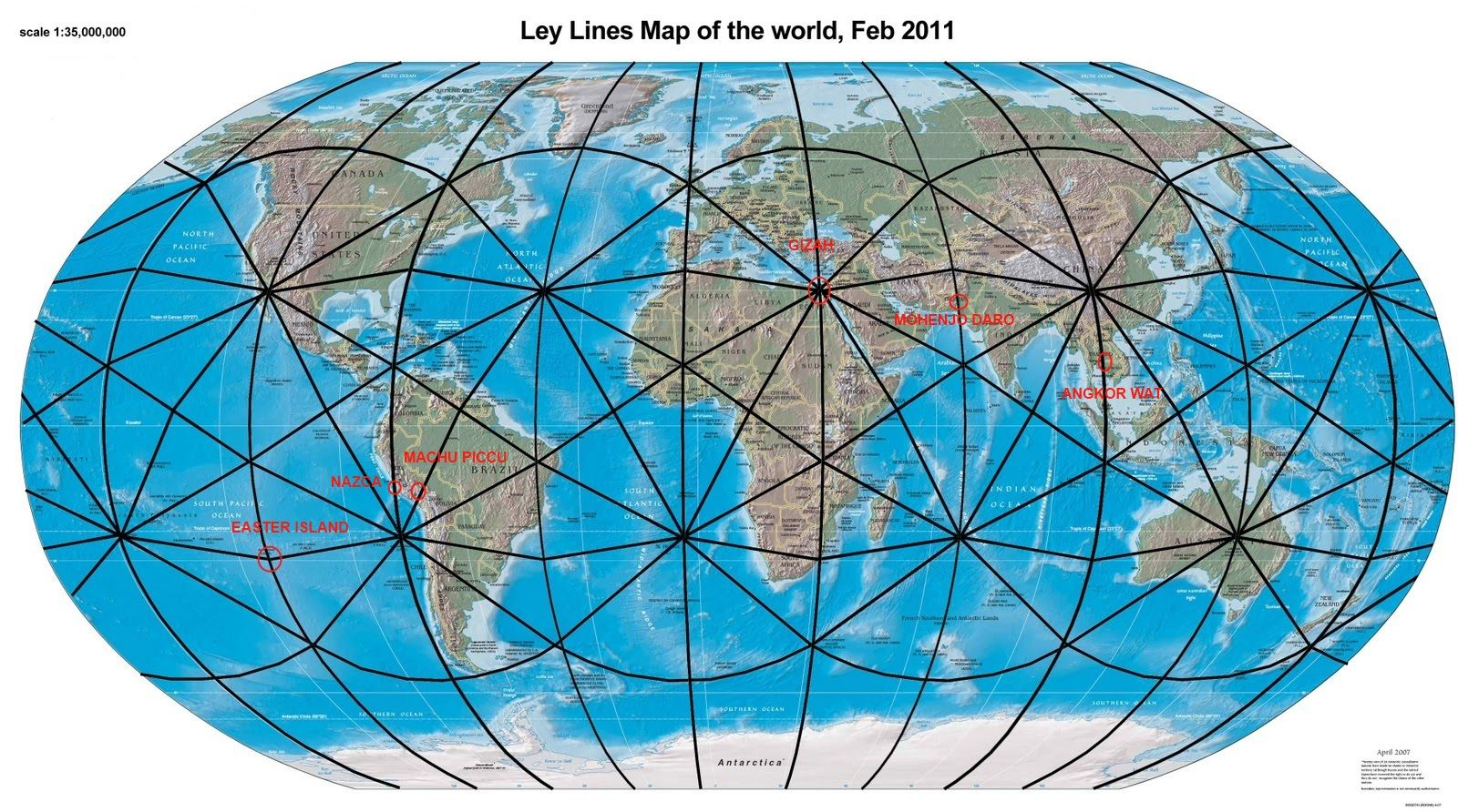Ley Lines Of The World Ley Lines Ancient Explorer Earth Grid