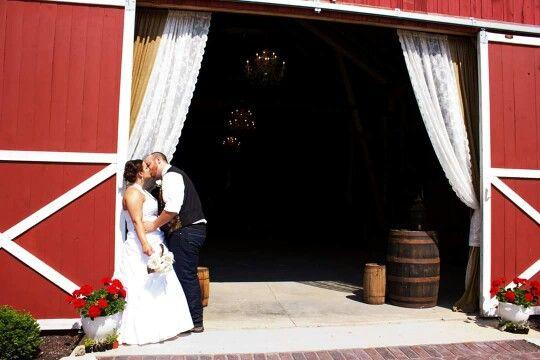 Barn wedding, country wedding facebook.com/yourphotosbytracy