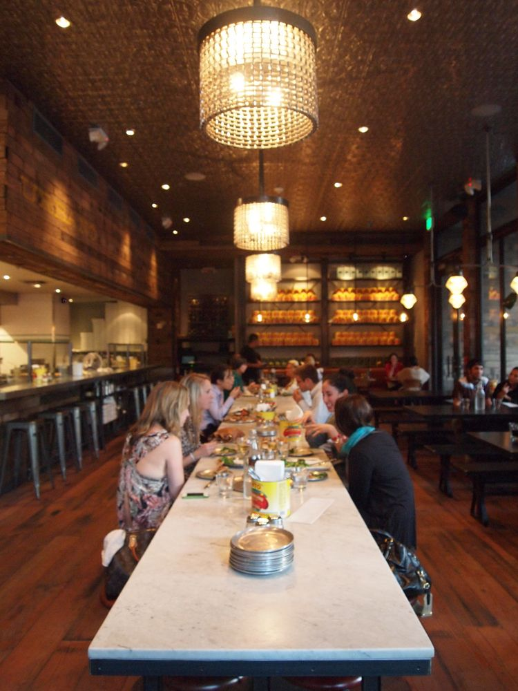 Urbano Pizza Bar Downtown L A Contemporary Interior Travel Ideas Restaurants Visit