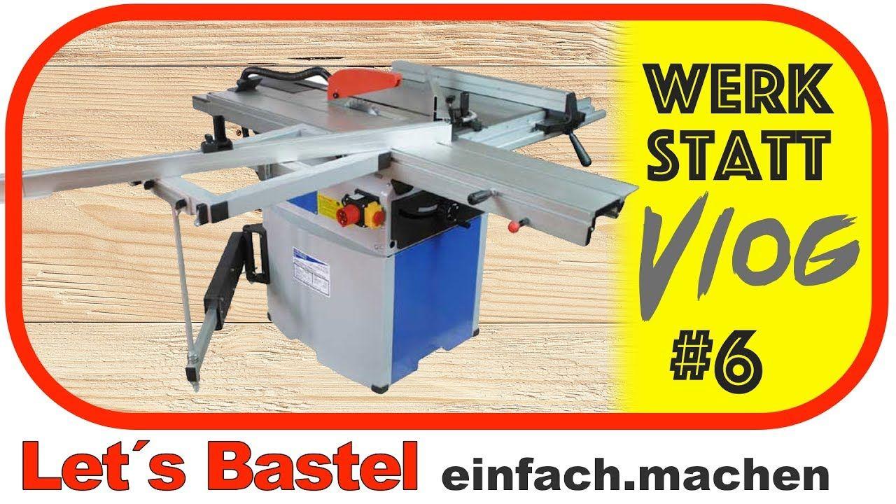 Werkstatt Vlog 6 Roller Klarmachen Und Kreissage Einstellen Holzfrasen Werkstatt Werkstatteinrichtung