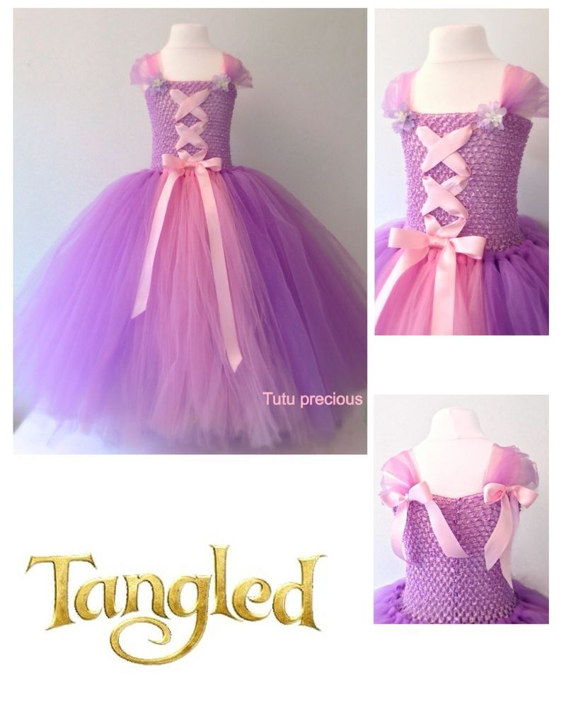 ffd2694628022 Disney Inspired Tangled, Princess Rapunzel Tutu Dress - Dressing up ...